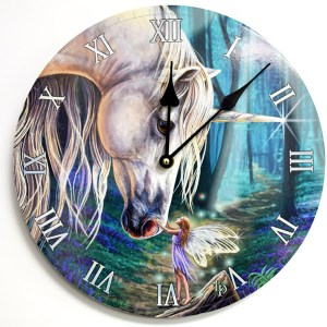 Unicorn-Fairy-Clock