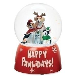 Dog-Globe-Happy-Pawlidays