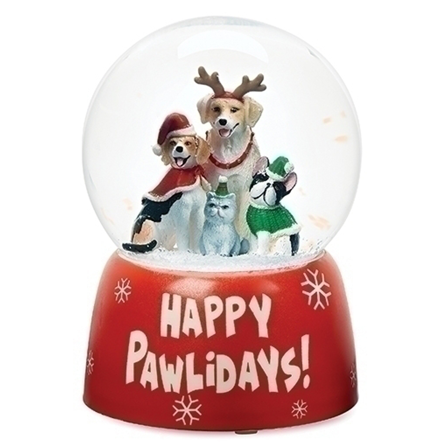 Dog-Globe-Happy-Pawlidays