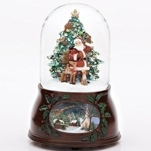 Santa-Deer-and-Tree-Snow-Globe