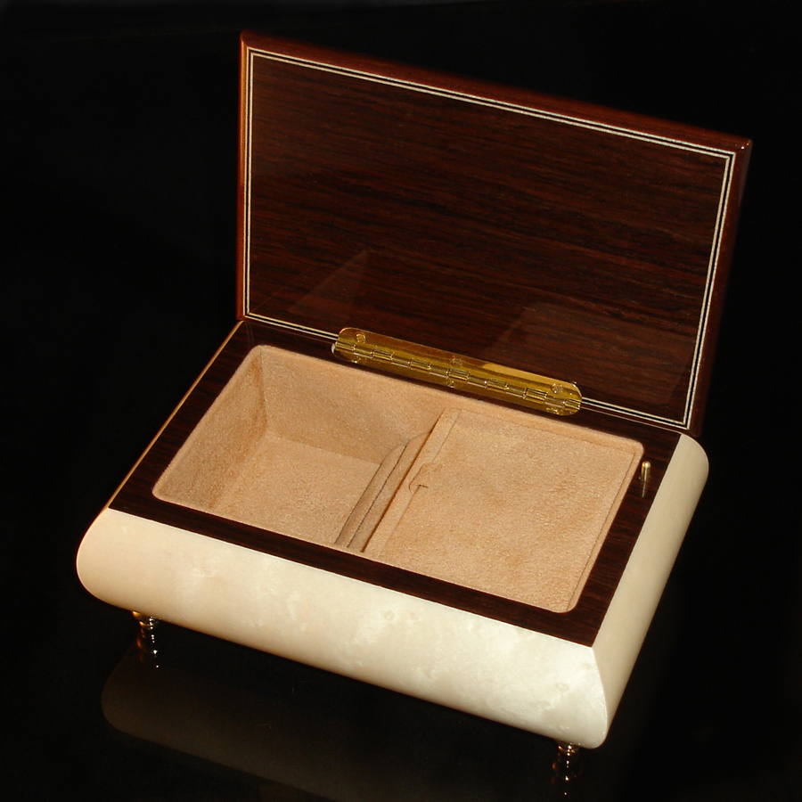 Italian-Jewelry-Box-04CVM-White-open
