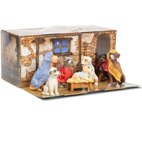 Dog-Nativity-Display-Box