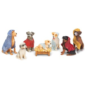 Dog-Nativity-Set