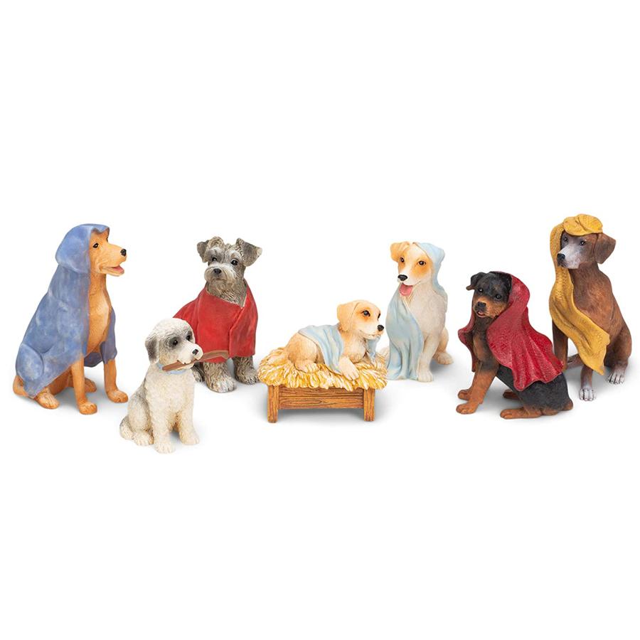 Dog-Nativity-Set