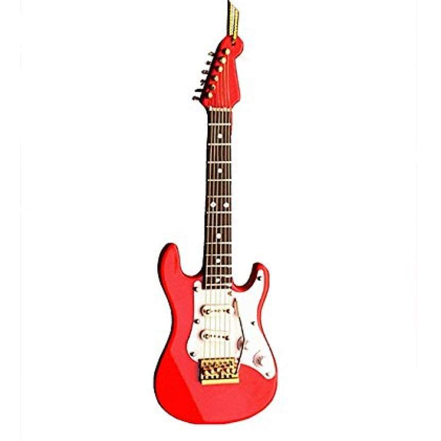 Red-Electric-Guitar-Ornament