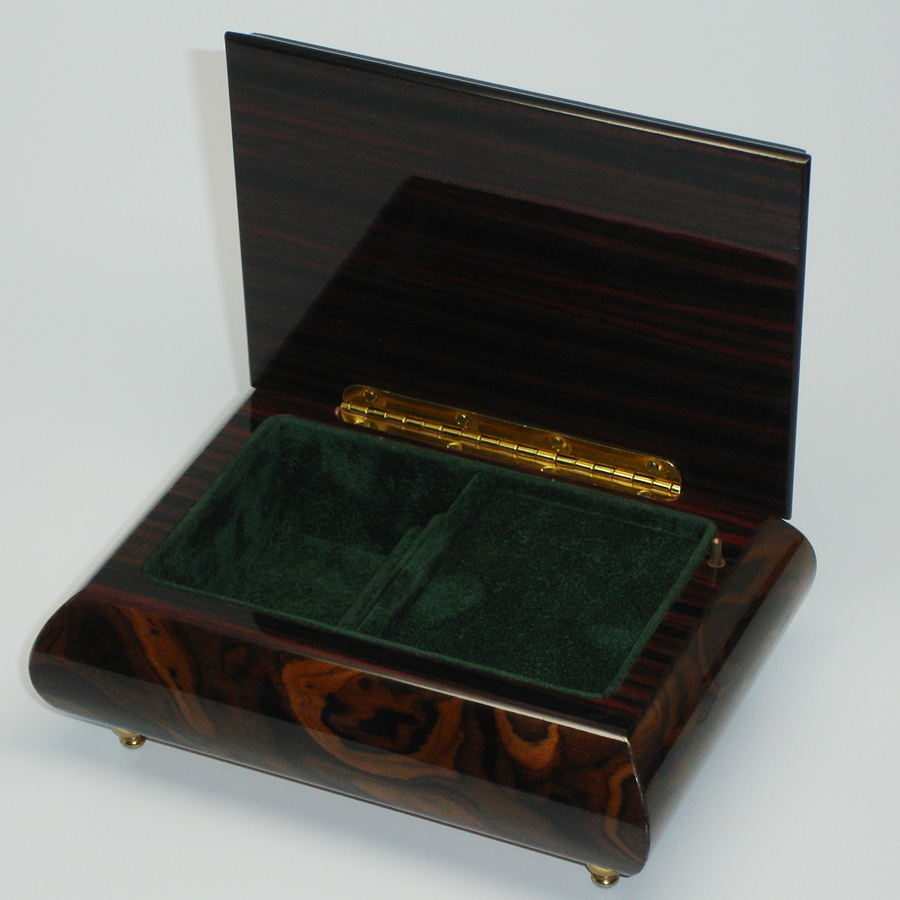 Italian-Inlay-Jewelry-Box-Burl-Walnut-open