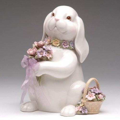 Bunny-Bouquet-Porcelain-Musical