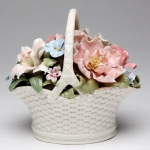 Flower-Basket-Porcelain-Musical