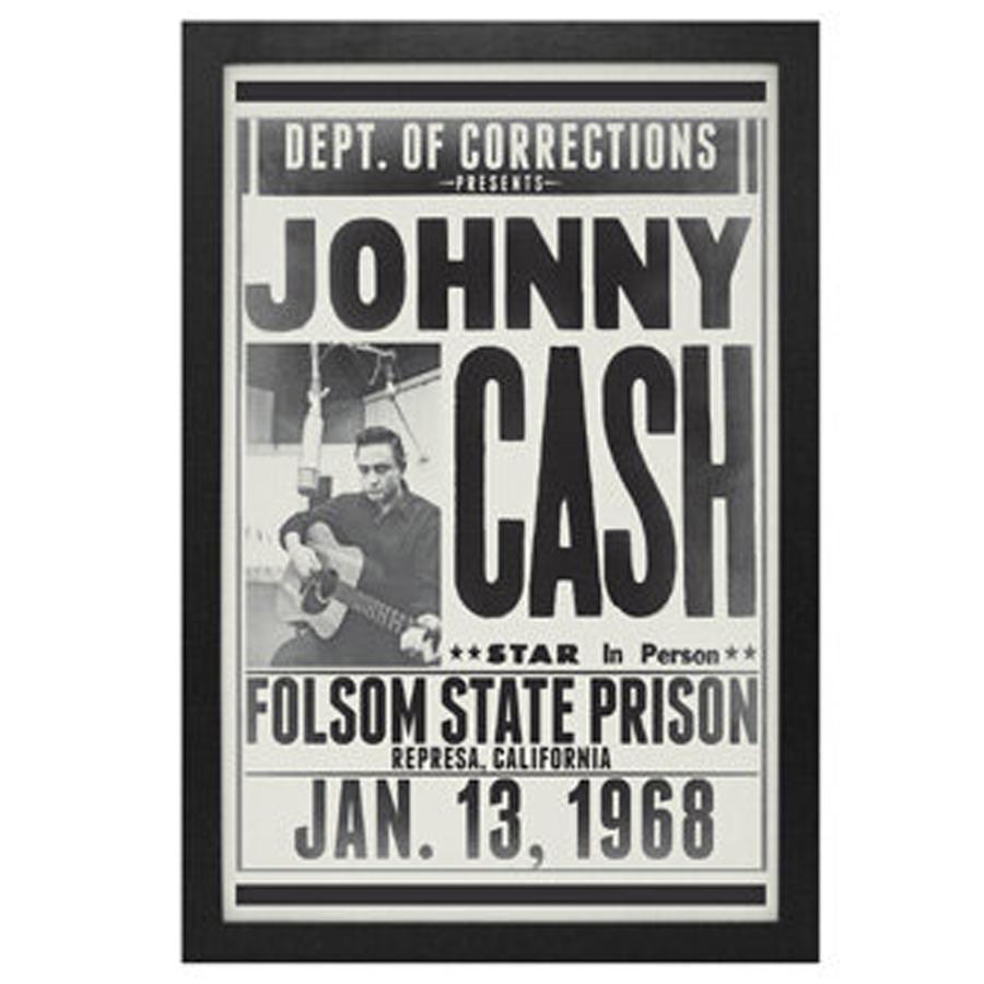 Johnny-Cash-Folsom-Prison-Framed-Print