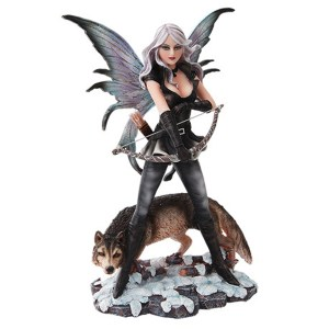 Fairy-Archer-with-Wolf