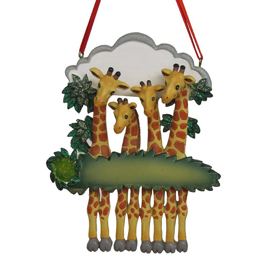Giraffe-Family-Ornament