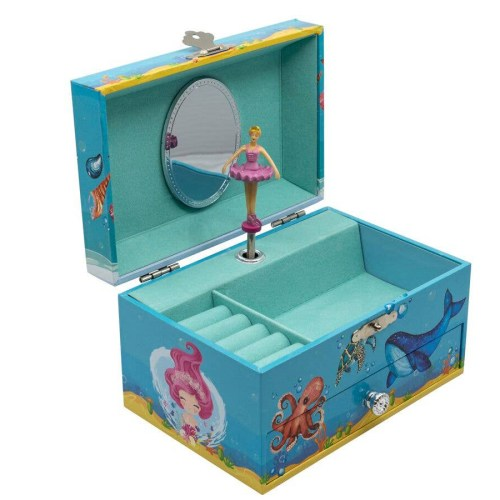 Mermaid-Musical-Jewelry-Box-open