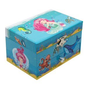 Mermaid-Children's-Musical-Jewelry-Box
