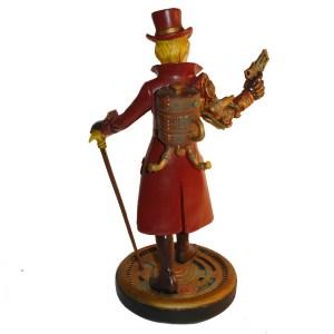 Steampunk-Girl-figurine-back-view