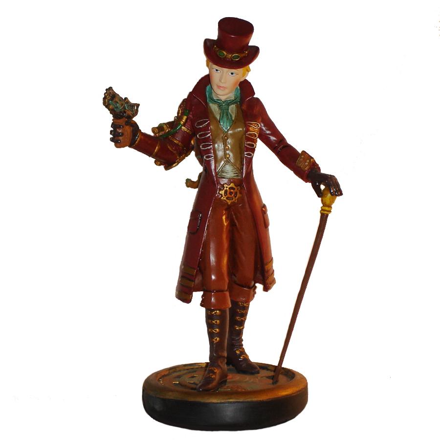 Steampunk-Girl-figurine-front