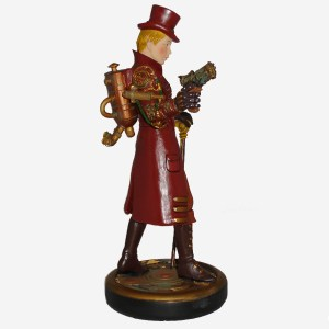 Steampunk-Girl-figurine-right-side