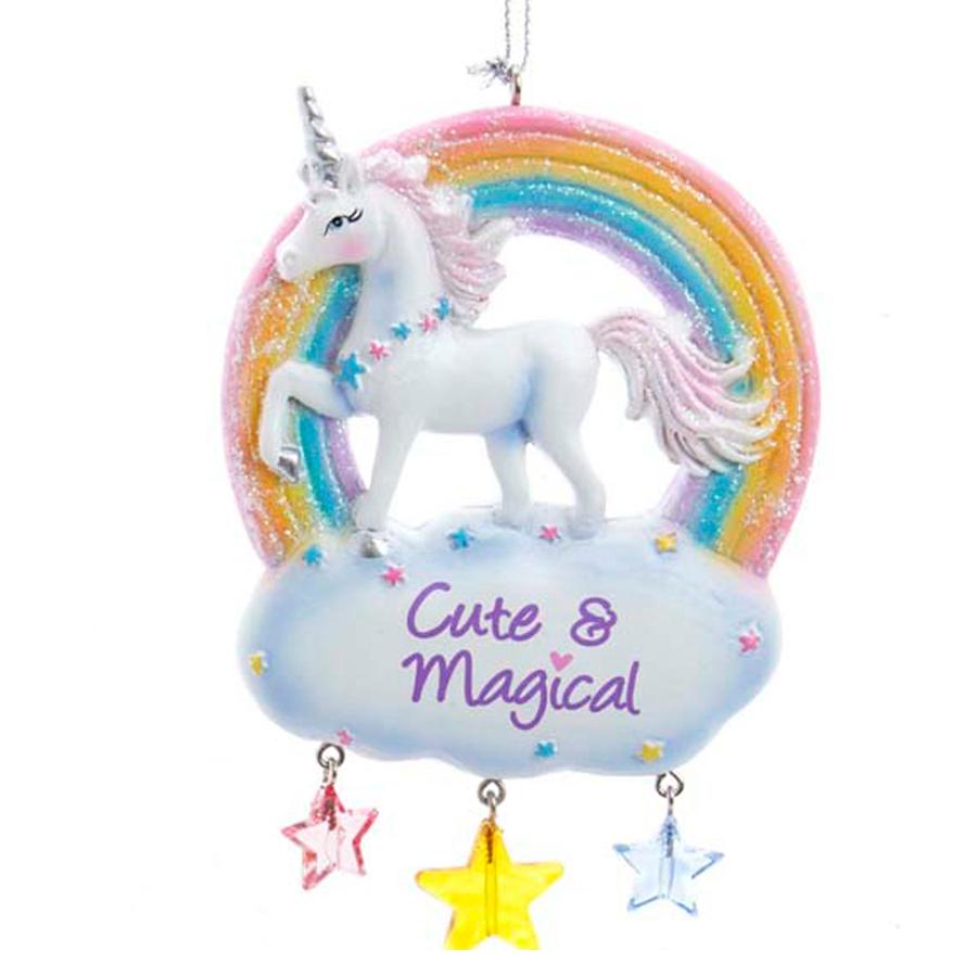 Unicorn-Ornament-Cute