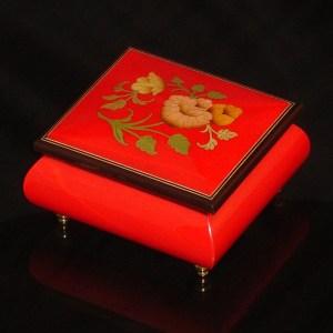 Italian-Inlay-Musical-Ring-Box-Red