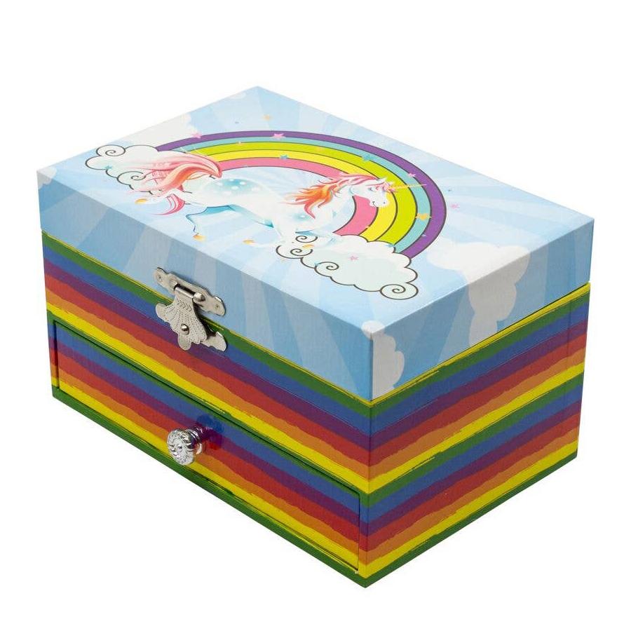 Unicorn-Rainbow-Musical-Jewelry-Box