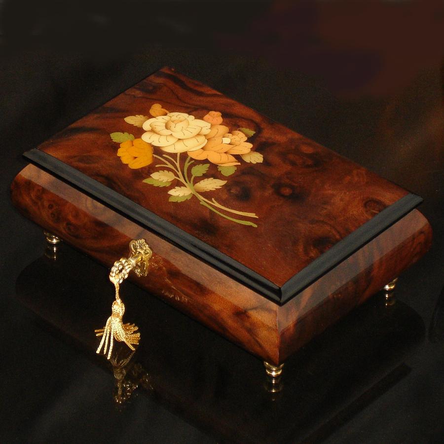 Italian-Inlay-Musical-Jewelry-Box-Walnut