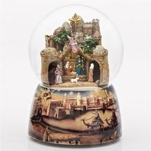 Bethlehem-Snow-Globe