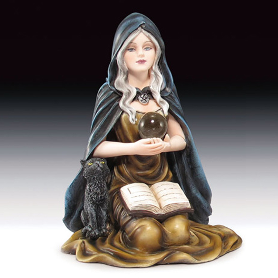 Sitting-Witch-and-Black-Cat