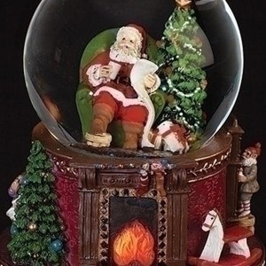 Santa-Fireplace-Globe-close-up