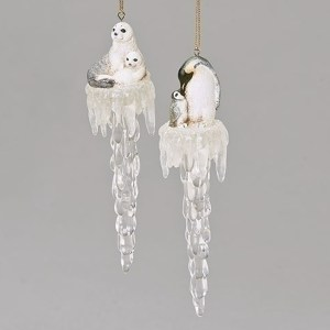 Penguin-Seal-Icicle-Ornament