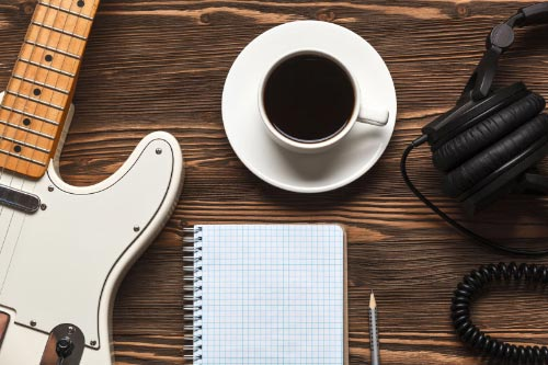 10 TIPS TO IMPROVE YOUR SONGS WITH CAFFEINE