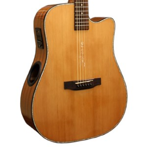 Boulder Creek Guitar, Solitaire Cutaway Cedar ECR3-N (Copy)- TEST