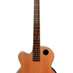 Boulder Creek Guitar, Acoustic Bass Cedar Top Lefty EBR3-N5LH