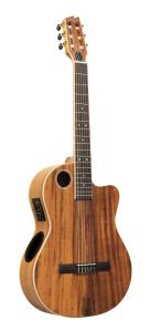 Boulder Creek Guitar, Classical Nylon Koa Top ECL-6