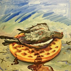Pigeons & Waffles