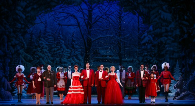 The Irving Berlin's White Christmas 2014 National Tour Company, Photo by Kevin White