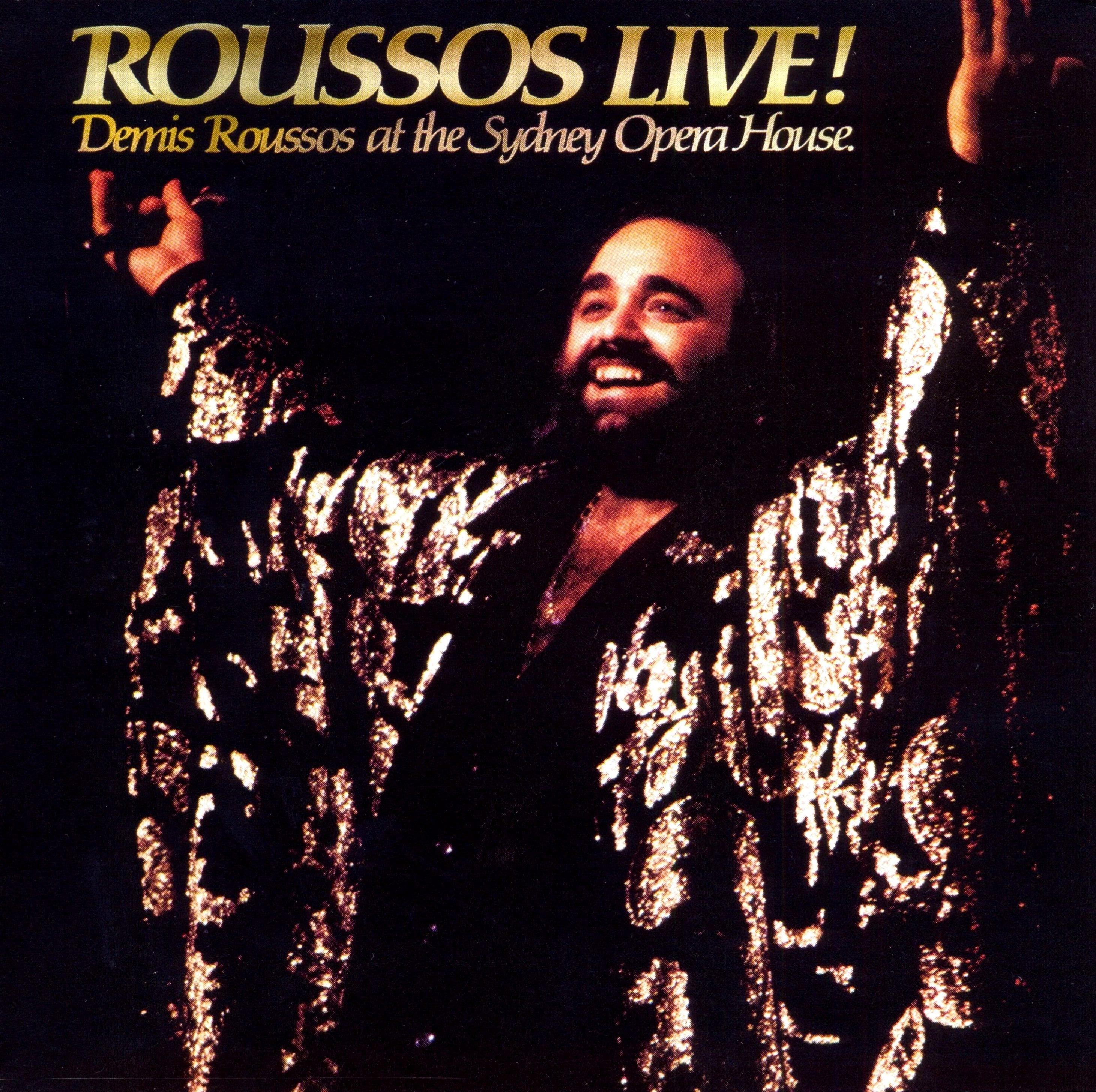 Demis Roussos - Roussos Live! Demis Roussos At The Sydney Opera House (BONUS TRACK) (1980) CD 8