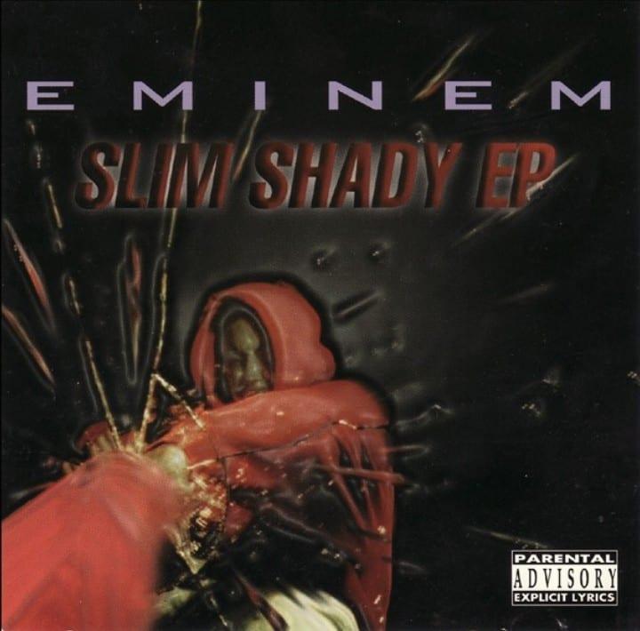 EMINEM - SLIM SHADY (EP) (1997) CD 8