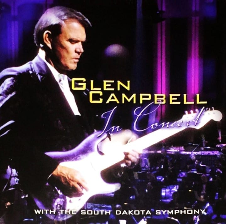 Glen Campbell - In Concert With The South Dakota Symphony (EXPANDED EDITION) (2001) DVD & CD SET 5
