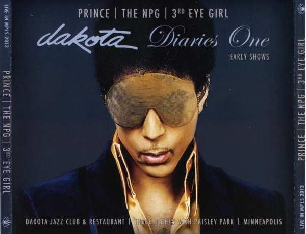 PRINCE  THE NPG  3rd EYE GIRL - Dakota Diaries 1 The Early Shows (2013) 4 CD SET 1