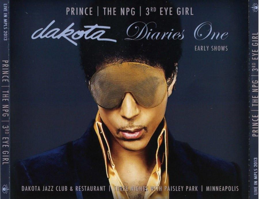 PRINCE THE NPG 3rd EYE GIRL - Dakota Diaries 1 The Early Shows (2013) 4 CD SET 10