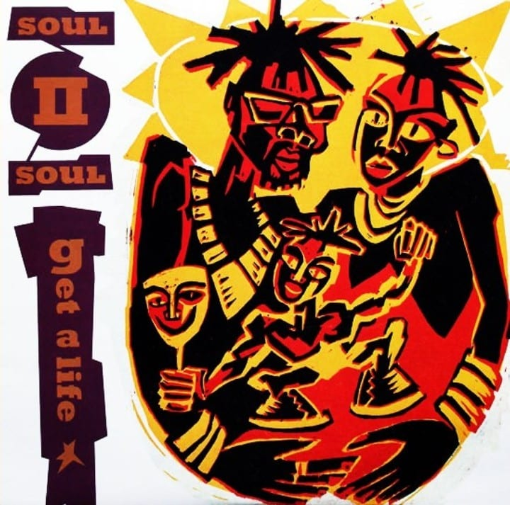 Soul II Soul - Get A Life (Feat. Marcia Lewis) (MAXI-CD) (1989) 9