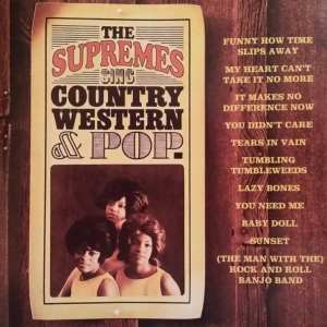 The Supremes - Sing Country Western & Pop (1965) CD 30