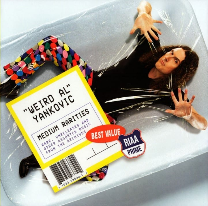 """Weird Al"" Yankovic - Medium Rarities (2017) CD 8"