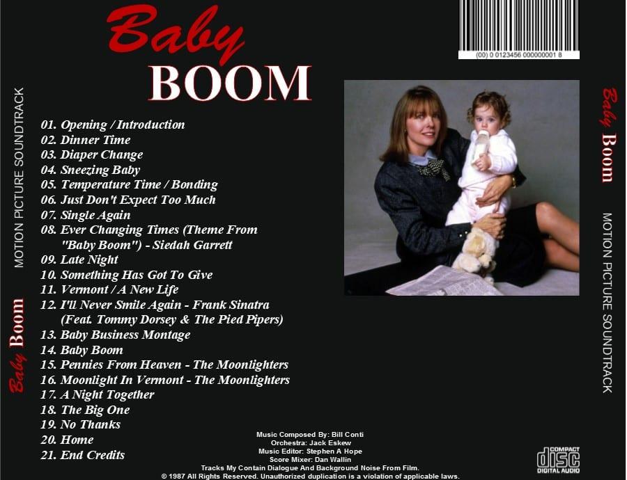 Baby Boom - Original Soundtrack (1987) CD - The Music Shop ...