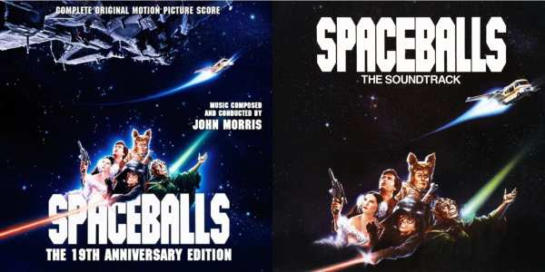 Spaceballs - Original Soundtrack + Score (The 19th Anniversary Edition) (EXPANDED EDITION)(1987 / 2006) 2 CD SET 1