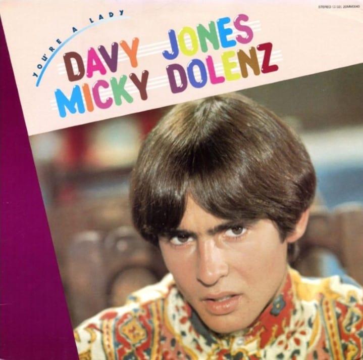 Davy Jones & Micky Dolenz - You're A Lady (1981) CD 10