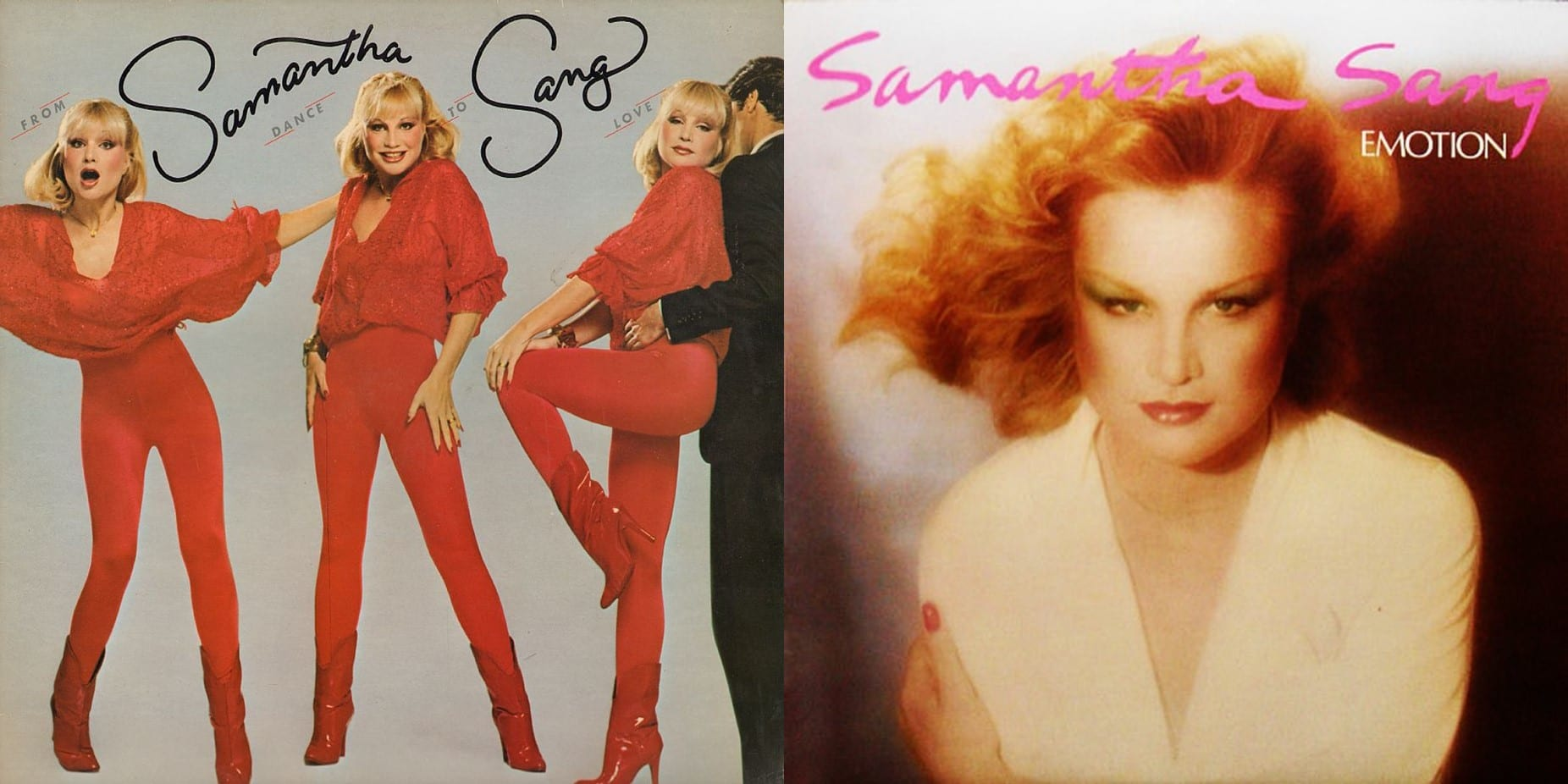Samantha Sang - Emotion (1978) + From Dance To Love (1979) (2020) CD 6