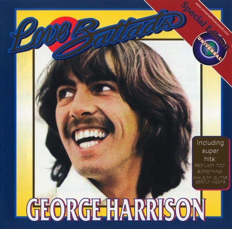George Harrison - Love Ballads (2002) CD 9