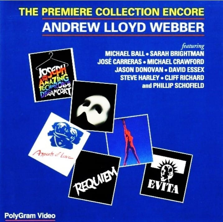 Andrew Lloyd Webber - The Premiere Collection Encore (1993) DVD 11