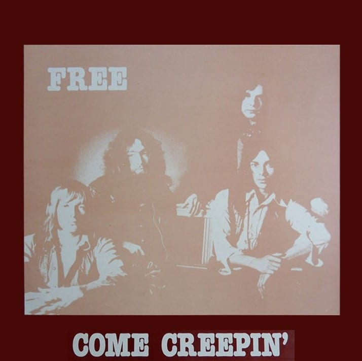 Free - Come Creepin' (EXPANDED EDITION) (Aachen Germany 1970) (COMPLETE SHOW) (1982 / 2020) 2 CD SET 10