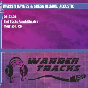 Gregg Allman & Warren Haynes - Acoustic: Red Rocks Amphitheatre (2006) CD 69